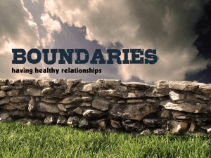 BoundariesHealthyRelationships